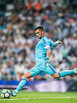 Goalkeeper Antonio Adan of Real Betis in action during the La Liga 2017-18 match between Real Madrid and Real Betis at Estadio Santiago Bernabeu on 20 September 2017 in Madrid, Spain. Photo by Diego Gonzalez / Power Sport Images