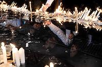 APARECIDA, SÃO PAULO, 23.07.2013. Movimentação de roumeiro em Aparecida Sp para a Jornada Mundial da Juventude. (Foto: Adriano Lima / Brazil Photo Press).
