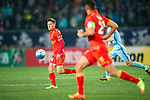 Adelaide United Forward Jordan O'doherty in action during the AFC Champions League 2017 Group H match between Jiangsu FC (CHN) vs Adelaide United (AUS) at the Nanjing Olympics Sports Center on 01 March 2017 in Nanjing, China. Photo by Marcio Rodrigo Machado / Power Sport Images