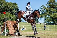 AUS-Sophie Adams rides Ridire Dorcha during the Cross Country for the CCI-S 4*. 2021 GBR-Bicton International Horse Trials. Devon. Great Britain. Sunday 13 June. Copyright Photo: Libby Law Photography