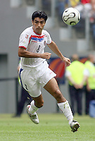 Costa Rica's Mauricio Solis. Ecuador defeated Costa Rica 3-0 in their FIFA World Cup Group A match at FIFA World Cup Stadium, Hamburg, Germany, June 15, 2006.
