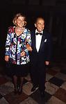 GILLO E PICCI PONTECORVO<br /> AMFAR FOUNDATION CHARITY GALA PALAZZO VOLPI VENEZIA 1993