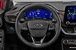Car pictures of steering wheel view of a 2020 Ford Puma Titanium-X 5 Door SUV Steering Wheel