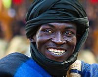 A portreit from the Durbar in Katsina, Nigeria.
