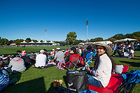 23rd March 2021; Christchurch, New Zealand;  Fan during the 2nd ODI cricket match, Black Caps versus Bangladesh, Hagley Oval, Christchurch, New Zealand.