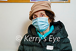 Sheila McNulty from Tralee received her vaccine at the Fuchsia Medical Centre in Tralee on Friday.