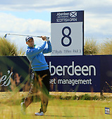Russell Knox (SCO) during round two of the 2016 Aberdeen Asset Management Scottish Open played at Castle Stuart Golf Golf Links from 7th to 10th July 2016: Picture Stuart Adams, www.golftourimages.com: 08/07/2016