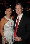 Deanna and Barton Gary at the San Luis Salute to Mardi Gras in Galveston Friday Feb. 13,2015.(Dave Rossman Photo)