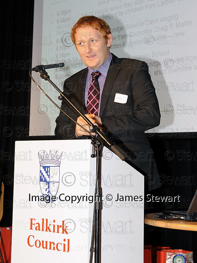 14/12/2010   Copyright  Pic : Lisa Ferguson / JSP.016_christmas_seminar_2010  .::  FALKIRK COUNCIL ::  LITTER STRATEGY :: CHRISTMAS SEMINAR 2010 :: COUNCILLOR CRAIG R MARTIN ::.