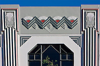 Art Deco Architecture, Napier, north island, New Zealand.