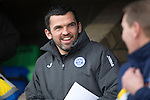 St Johnstone v Kilmarnock.....28.02.15<br /> Saints assistant manager Callum Davidson all smiles before kick off<br /> Picture by Graeme Hart.<br /> Copyright Perthshire Picture Agency<br /> Tel: 01738 623350  Mobile: 07990 594431
