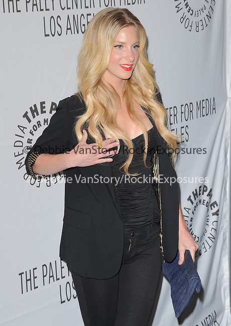 Heather Morris at The PaleyFest 2011 Panel for Glee held at The Saban Theater in Beverly Hills, California on March 16,2011                                                                               © 2010 Hollywood Press Agency