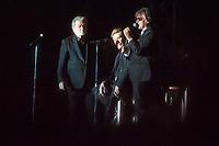 EDDIE MICHELL / JOHNNY HALLYDAY / JACQUES DUTRONC - LES VIEILLES CANAILLES EN CONCERT AU FESTIVAL ALUNA