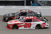 #20: Christopher Bell, Joe Gibbs Racing, Toyota Camry Rheem and #51: Jeremy Clements, Jeremy Clements Racing, Chevrolet Camaro RepairableVehicles.com