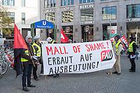 2014/11/27 Berlin | Wirtschaft | Bauarbeiter-Protest