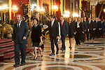 Pedro Duque attends to Sapnish National Day palace reception at the Royal Palace in Madrid, Spain. October 12, 2018. (ALTERPHOTOS/A. Perez Meca)