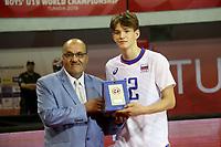 L'Italie imparable remporte l'or au mondial masculin des moins de 19 ans après 22 ans<br /> PHOTO : Agence Quebec Presse - Jdidi Wassim