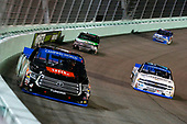 NASCAR Camping World Truck Series<br /> Ford EcoBoost 200<br /> Homestead-Miami Speedway, Homestead, FL USA<br /> Friday 17 November 2017<br /> Christopher Bell, JBL Toyota Tundra and Johnny Sauter, ISMConnect Chevrolet Silverado<br /> World Copyright: Russell LaBounty<br /> LAT Images