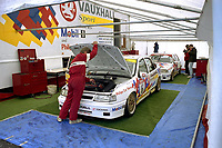 British Touring Car Championship at Knockhill. #6 Jeff Allam (GBR). Vauxhall Sport. Vauxhall Cavalier GSi.