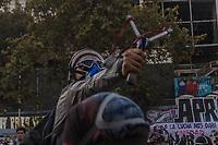 Santiago, Chile, 06/03/2020 - Protesto-Constituinte - Milhares de pessoas se reunem na praca D'Italia em Santiago no Chile para protestar a favor de uma Nova Constituinte, nesta sexta-feira (06). (Foto: Ellan Lustosa/Codigo 19/Codigo 19)