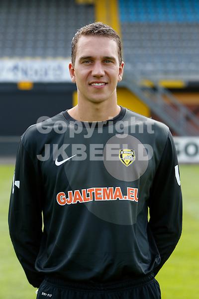 goalkeeper Robbert te Loeke of SC Veendam..Persdag SC Veendam , jupiler league seizoen 2012-2013  ,  10-07-2012, ..foto: Henk jan Dijks
