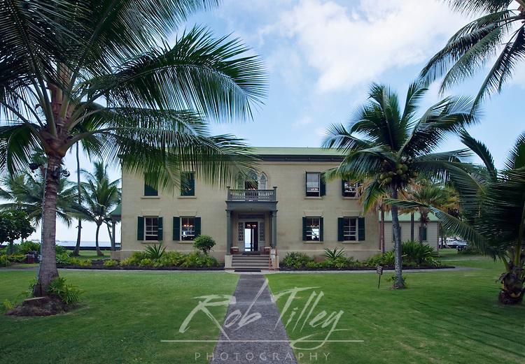 USA, HI, Kona, Kailua, Hullihee Palace