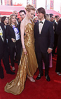 Tom Cruise and actress Nicole Kidman at the 72nd Academy Awards at the Shrine in Los Angeles.