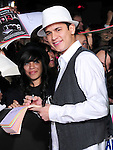 Bronson Pelletier. at The Summit Entertainment's World Premiere of THE TWILIGHT SAGA: NEW MOON held at The Mann's Village Theatre in Westwood, California on November 16,2009                                                                   Copyright 2009 DVS / RockinExposures