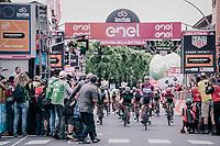 Elia Viviani (ITA/QuickStep Floors) wins his 3rd stage in this sedition of the Giro<br /> <br /> stage 13 Ferrara - Nervesa della Battaglia (180km)<br /> 101th Giro d'Italia 2018