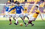 Motherwell v St Johnstone….30.03.19   Fir Park   SPFL<br />Murray Davidson and Alex Rodriguez Gorrin<br />Picture by Graeme Hart. <br />Copyright Perthshire Picture Agency<br />Tel: 01738 623350  Mobile: 07990 594431