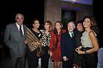 MARIO D'URSO CON MARISELA FEDERICI, GIANNA TERZI SANT'AGATA, GUYA SOSPISIO, CARLO GIOVANELLI, MARTINE ORSINI E ESTHER CRIMI<br /> FESTA RIUNIFICAZIONE  A VILLA ALMONE RESIDENZA AMBASCIATORE TEDESCO -  ROMA  OTTOBRE 2008