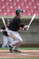 April 29, 2009: Tyler Pastornicky (3) of the Lansing Lugnuts at Elfstrom Stadium in Geneva, IL.  Photo by: Chris Proctor/Four Seam Images