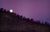 Boulouparis, lever de lune