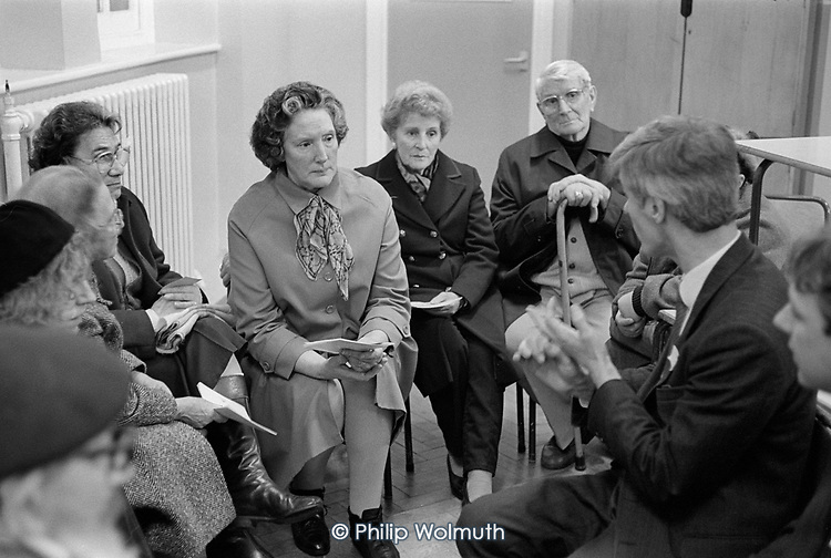 Walterton and Elgin Community Homes AGM, North Paddingon, London 1989.
