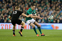 Saturday 17th November 2018 | Ireland vs New Zealand<br /> <br /> Jonathan Sexton during 2018 Guinness Series between Ireland and Argentina at the Aviva Stadium, Lansdowne Road, Dublin, Ireland. Photo by John Dickson / DICKSONDIGITAL