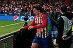 Atletico de Madrid's Antoine Griezmann celebrates goal during UEFA Champions League match, Round of 16, 1st leg between Atletico de Madrid and Juventus at Wanda Metropolitano Stadium in Madrid, Spain. February 20, 2019. (ALTERPHOTOS/A. Perez Meca)