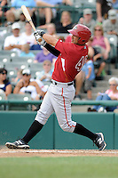Altoona Curve outfielder Andrew Lambo (46) during game against the Trenton Thunder at Samuel L. Plumeri Sr. Field at Mercer County Waterfront Park on August 22, 2012 in Trenton, NJ.  Altoona defeated Trenton 14-2.  Tomasso DeRosa/Four Seam Images