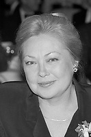 Mathilde Krim, AIDS activist and founder of AMFAR, at Human Rights Campaign Fund diner at Park Plaza Hotel Boston, MA 10.23.87