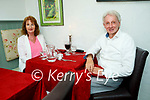 Enjoying the evening in Cassidys on Thursday, l to r: Breda and John Cashell.