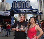 Dustin and Kaya during the 24th Annual Great Eldorado Brews and Blues Festival in Reno, Nevada on Saturday, June 15, 2019.
