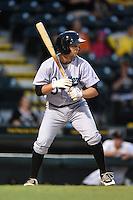 Jupiter Hammerheads third baseman Ross Wilson (3) during a game against the Bradenton Marauders on April 17, 2014 at McKechnie Field in Bradenton, Florida.  Bradenton defeated Jupiter 2-1.  (Mike Janes/Four Seam Images)