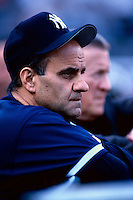 New York Yankees Manager Joe Torre before the1998 World Series against the San Diego Padres at Qualcomm Stadium in San Diego, California. (Larry Goren/Four Seam Images)