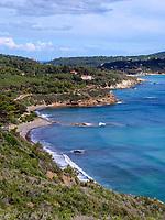 Spiaggia Acquarilli am Golfo Stella, Elba, Region Toskana, Provinz Livorno, Italien, Europa<br /> Beach Spiaggia Acquarilli at Golfo Stella, Elba, Region Tuscany, Province Livorno, Italy, Europe