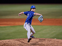 Jesuit Tigers pitcher Jamie Arnold (8) during a game against the IMG Academy Ascenders on April 21, 2021 at IMG Academy in Bradenton, Florida.  (Mike Janes/Four Seam Images)