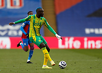 13th March 2021; Selhurst Park, London, England; English Premier League Football, Crystal Palace versus West Bromwich Albion;  Mbaye Diagne of West Bromwich Albion