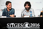 "XXX during the press conference of the presentation of the film ""Proyecto Lazaro"" at the Festival de Cine Fantastico de Sitges in Barcelona. October 07, Spain. 2016. (ALTERPHOTOS/BorjaB.Hojas)"