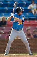 Myrtle Beach third baseman Eric Campbell (34) at bat versus Winston-Salem at Ernie Shore Field in Winston-Salem, NC, Monday, May 28, 2007.