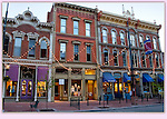 Larimer Square near Denver's 16th Street Mall. <br />