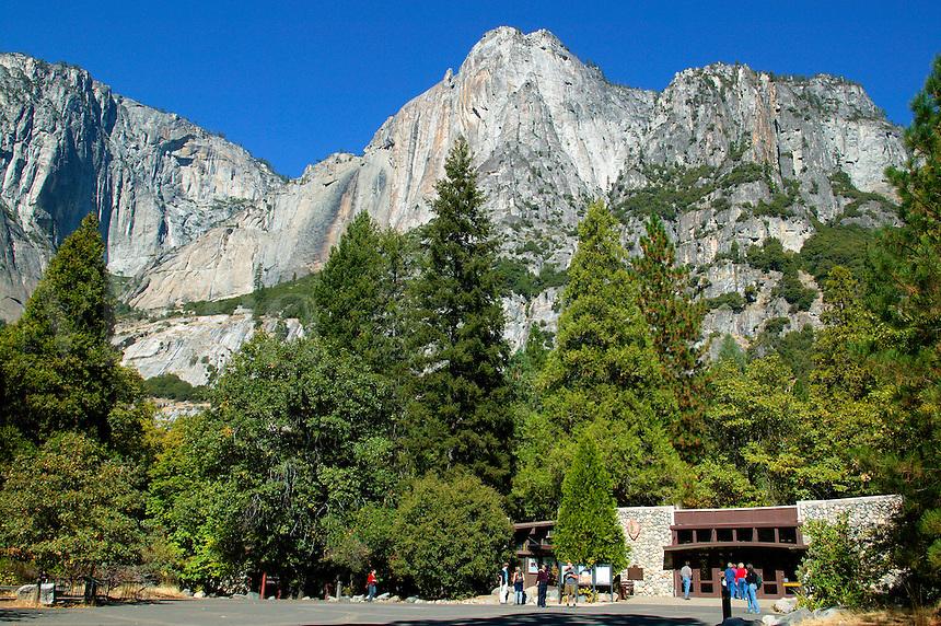 Visitor Center in Yosemite National Park, California.