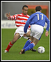 5/10/02       Copyright Pic : James Stewart                     .File Name : stewart-hamilton v stranraer 06.MAHDI ELFALLAH CHALLENGES LEE SHARPE....James Stewart Photo Agency, 19 Carronlea Drive, Falkirk. FK2 8DN      Vat Reg No. 607 6932 25.Office : +44 (0)1324 570906     .Mobile : + 44 (0)7721 416997.Fax     :  +44 (0)1324 570906.E-mail : jim@jspa.co.uk.If you require further information then contact Jim Stewart on any of the numbers above.........